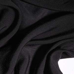 Black Bamboo 25% Silk 75% light cloth 114 wide-0