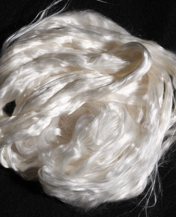 AAA Mulberry Silk Top Roving 50gr-0