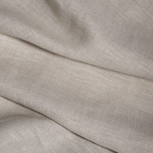 Linen, Belgian: Medium weight, natural taupe colour.-0