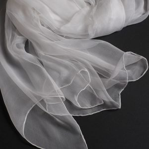 Splendid - Long fine silk scarf 2300x520mm (SC27)-0
