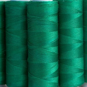 Green silk thread 200 yrd-0