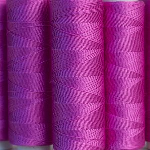 Bright Pink silk thread 200 yrd-0