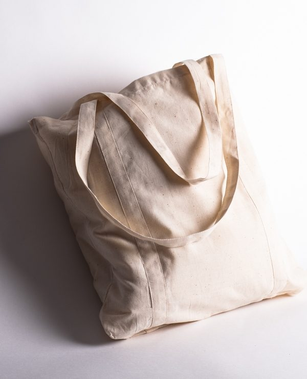 calico cotton carry bag 400mm square size!-911