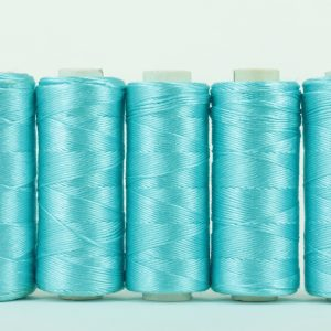 Pure silk filament thread, Light Aqua-0