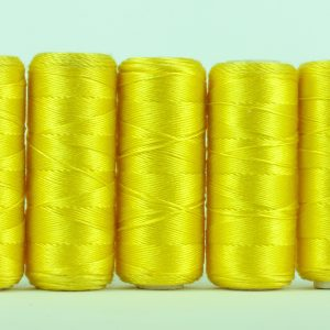 Pure silk filament thread, Lemon-0