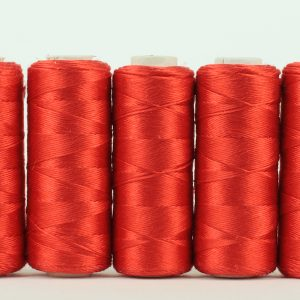 Pure silk filament thread, Scarlet-0