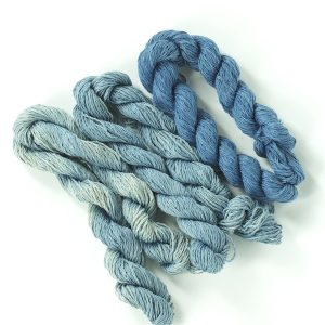 Indigo Dyed stitching thread 3 tone pack-0