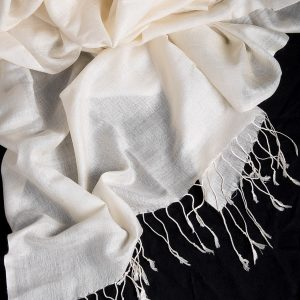 Jack - Silk wool fine woven wrap 2200mm x 600mm (SC67)-0