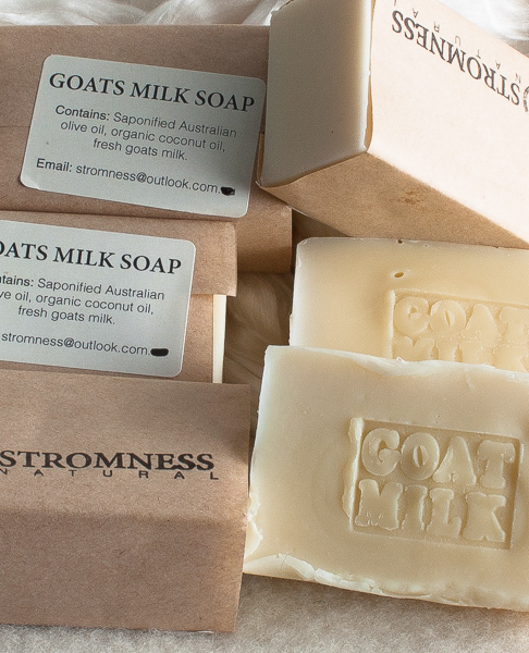 Stromness goat's milk soap-0