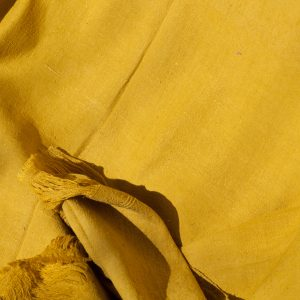 Raw 100% silk wrap naturally dyed with marigold flowers 2500mmx1200mm-0