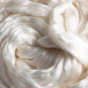 500 gram bags of Silk 50% 17 micron merino wool 50% roving, superwashed -0