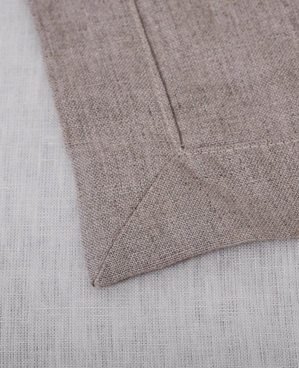 Natural linen sheets, finished product-520