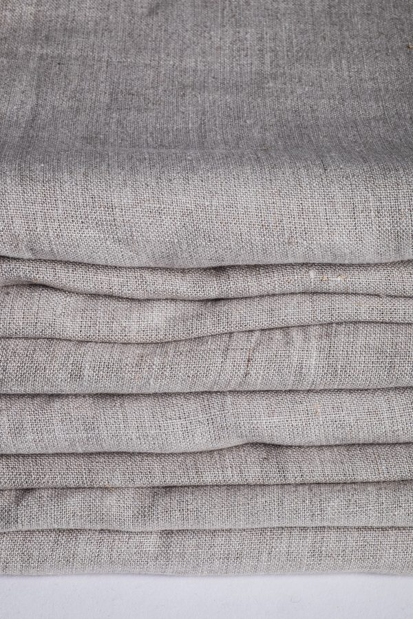 Natural linen sheets, finished product-519