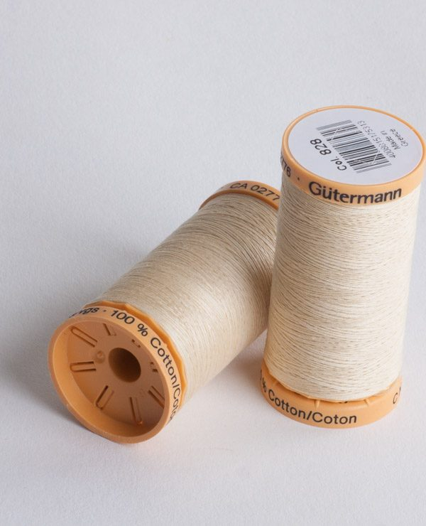 Pure cotton thread 250 mtr reel-0