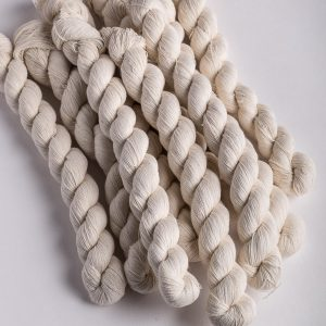 Fine cotton stitching yarn - 25gr hank-0