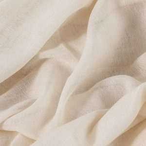 50/50 silk wool gauze fabric-0