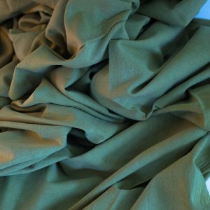Naturally dyed khadi cotton 2.2 meter lengths x 114 width dyed with marigold and indigo-0