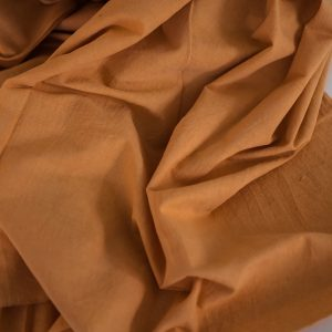 naturally dyed khadi cotton 2.2 meter lengths x 114 width dyed with Nepali madder-0