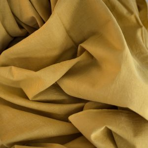 naturally dyed khadi cotton 2.2 meter lengths x 114 width dyed with marigold-0