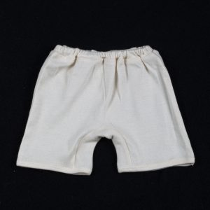 Organic cotton baby shorts-0