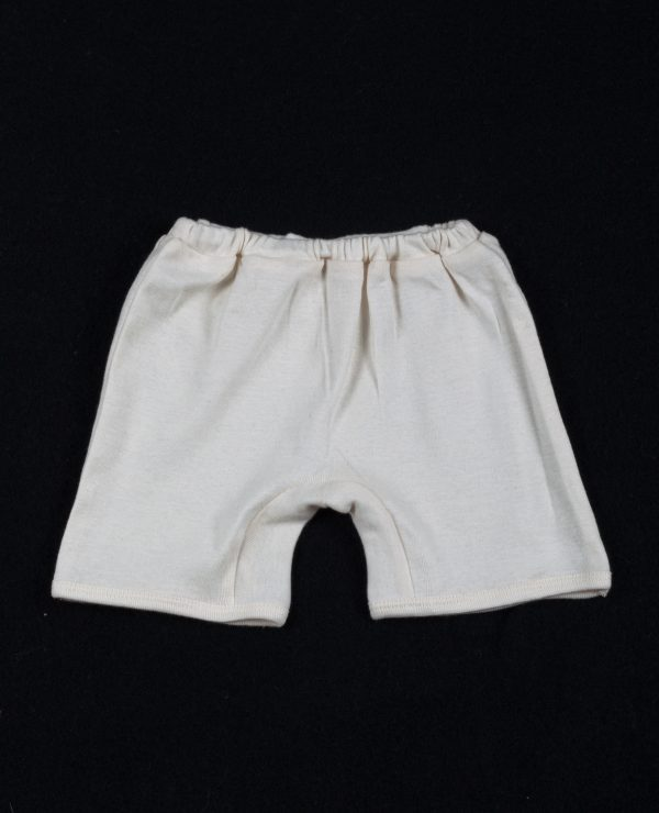 Organic cotton baby shorts 6-12 months-0