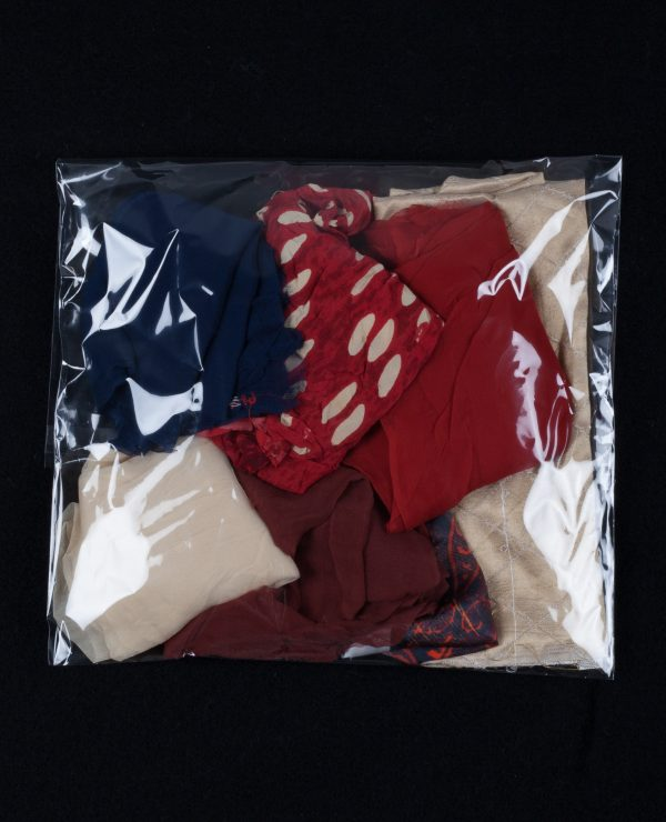 Lucky Dip - Assorted bags of coloured silk remnants, approximately 2.5-3.5 meters per bag.-740