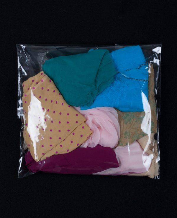 Lucky Dip - Assorted bags of coloured silk remnants, approximately 2.5-3.5 meters per bag.-744