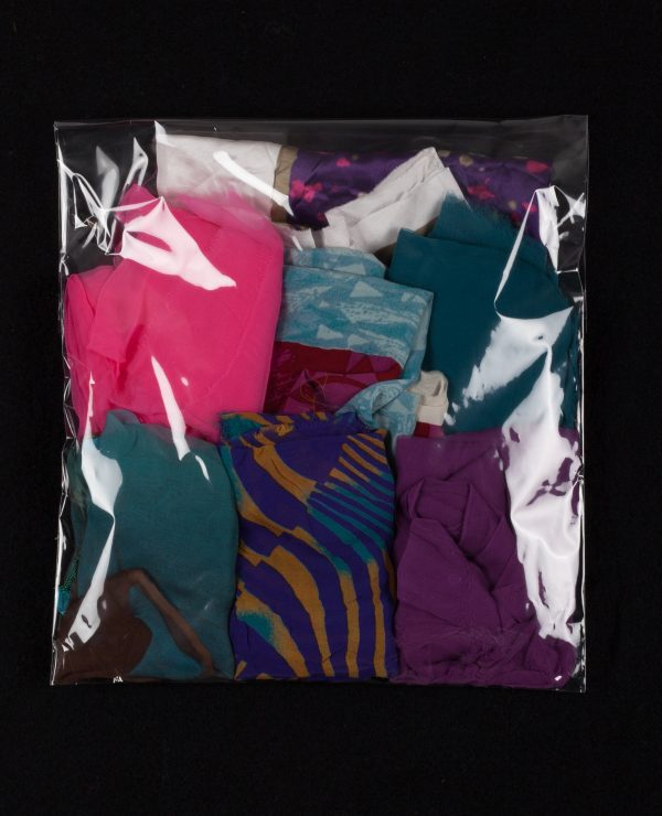 Lucky Dip - Assorted bags of coloured silk remnants, approximately 2.5-3.5 meters per bag.-743
