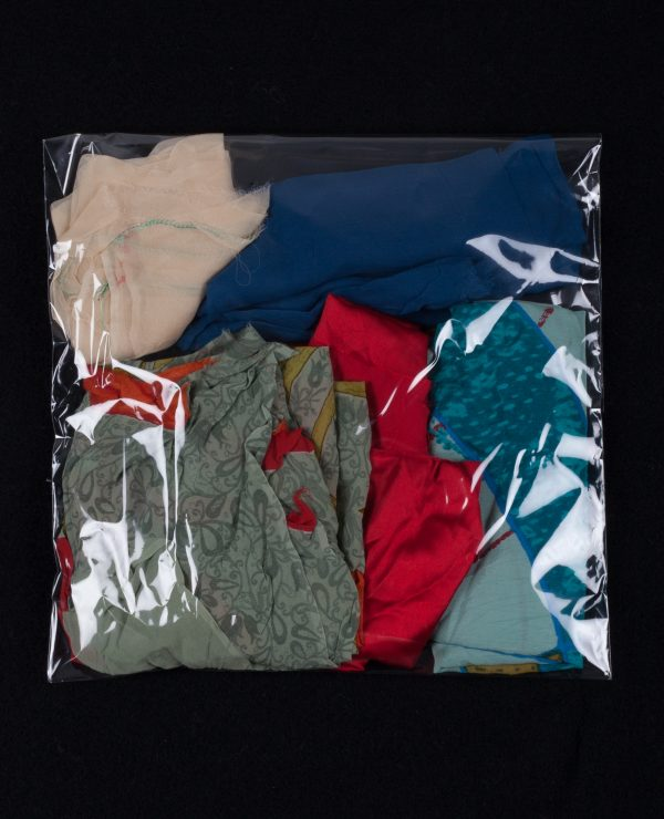 Lucky Dip - Assorted bags of coloured silk remnants, approximately 2.5-3.5 meters per bag.-741