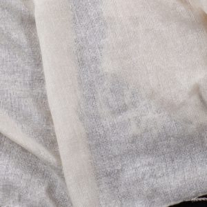 Ahimsa Light pure silk noil gauze large wrap or throw (Marion)-0