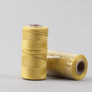 Marigold Herbal dyed silk stitching thread -0