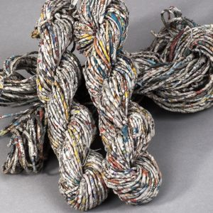 Newspaper yarn, a waste to wealth product-0