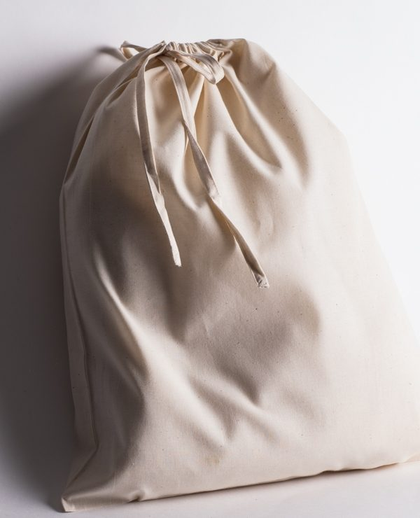 Calico drawstring storage bag 200mm x 300mm size-917