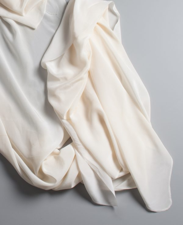 Eco dyer's special super large reclaimed silk crepe de chine wrap-0