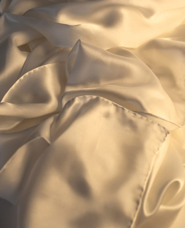Silk satin super sized luxury charmeuse wrap, 2100mm x 650mm. 'Supreme'-0