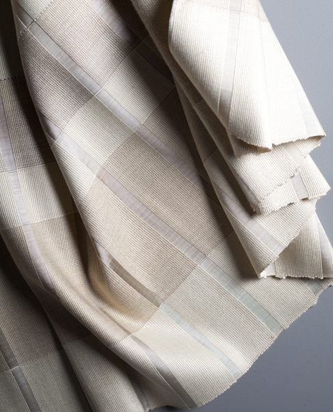 Silk Tussah fabric with rayon features super special-0